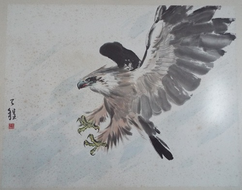 Chinese Painting  Eagle