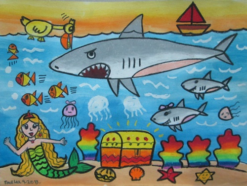Foundation Art Shark
