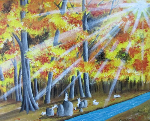 Acrylic Painting Autumn 1