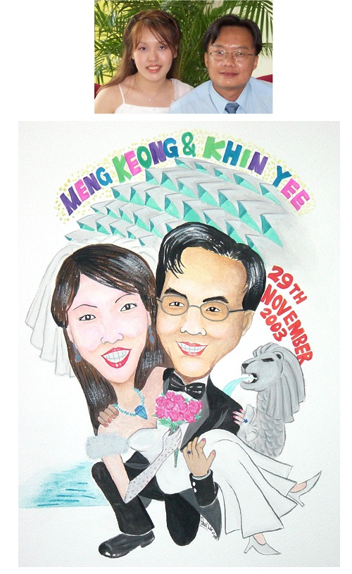 Caricature for Couple