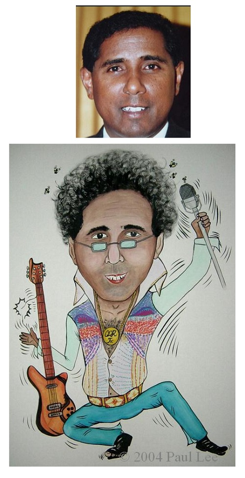 Customised Caricature for Individual