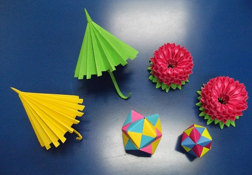 Origami Mixed Models
