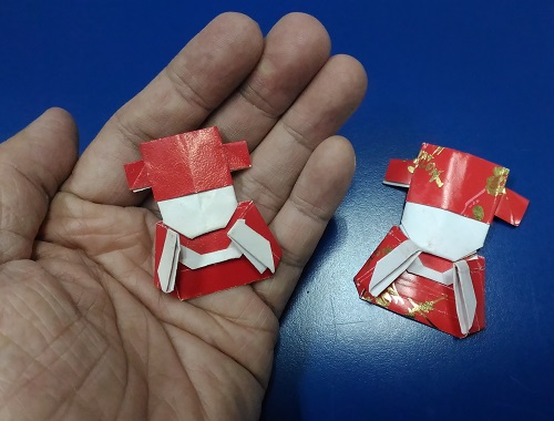 Origami Chinese God of Fortune