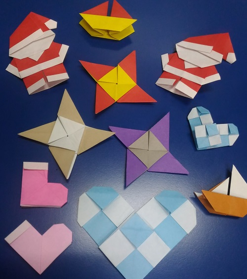 Therapy through Origami