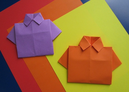 Origami Gift Wrap T-Shirt design