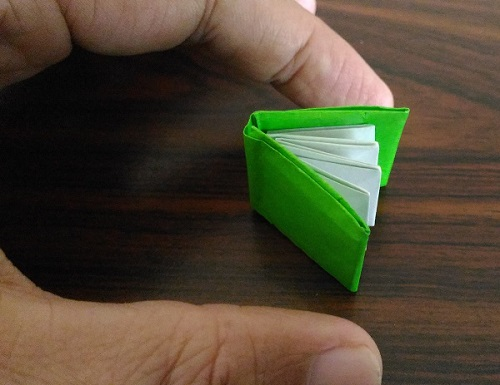Mini Book with 1 Origami paper