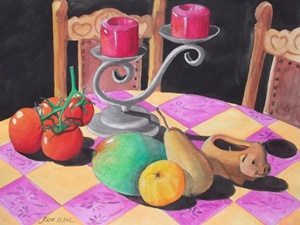 Water Colour Still Life 3 by Paul Lee