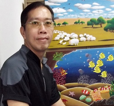Artist Art Teacher Paul Lee